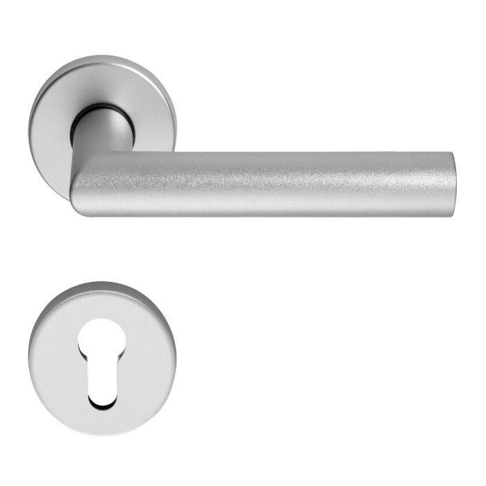 Klamki aluminium rozety okrągłe OGL D-310