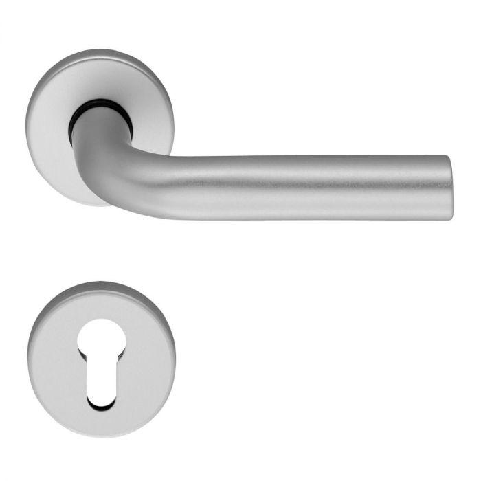 Klamki aluminium rozety okrągłe OGL D-210